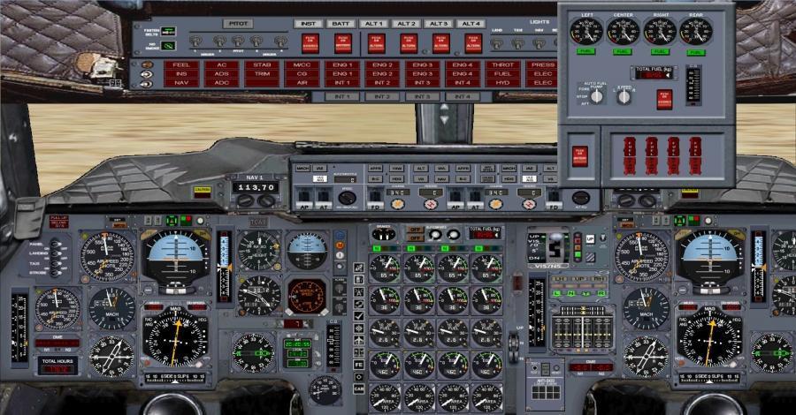 fsx 2d Panel Concorde