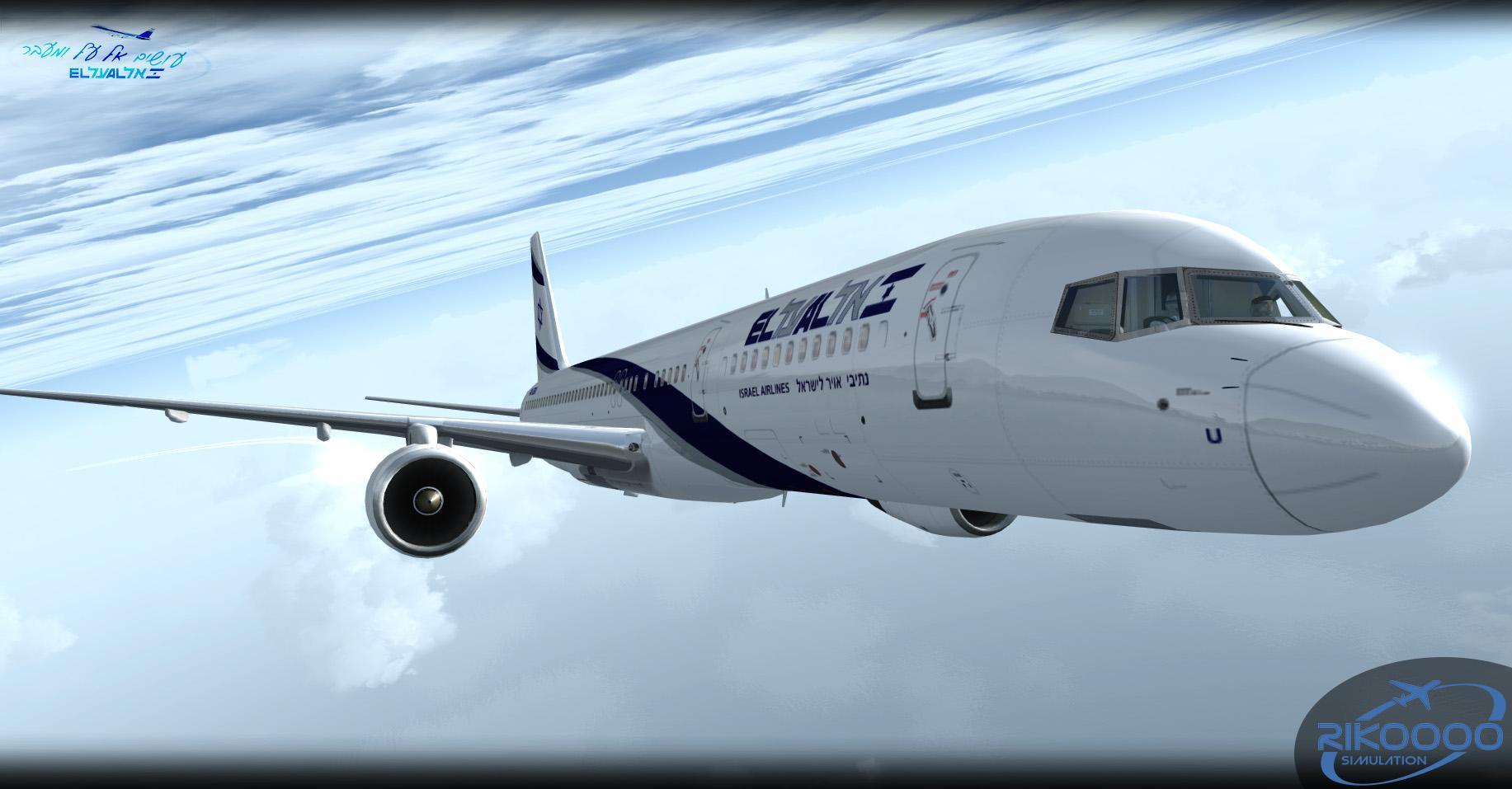 DOWNLOAD Fleet El Al Israel Airlines v1.0 FSX & P3D - Rikoooo
