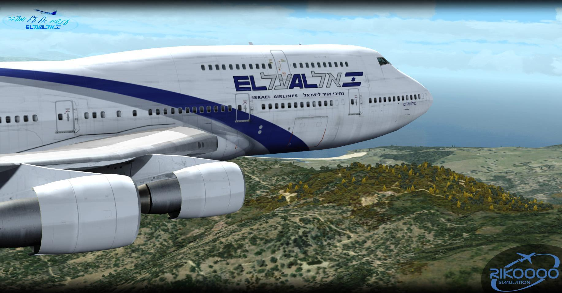 DOWNLOAD Fleet El Al Israel Airlines v1.0 FSX & P3D - Rikoooo