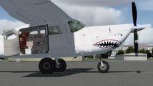 FlightPort Cessna U206G Soloy Mark 1 FSX P3D  20