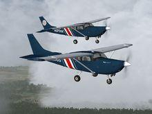 FlightPort Cessna U206G Soloy Mark 1 FSX P3D  9
