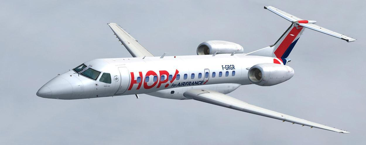 intro embraer 135 hop for air france1