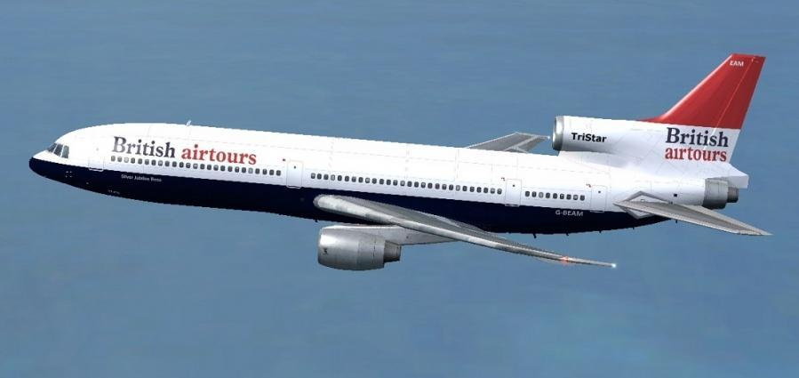 Britesch Airtours Lockheed L1011 Tristar Screenshot 1
