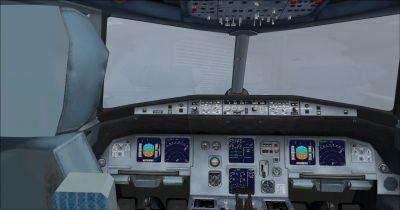 Airbus A320 Cockpit Virtual