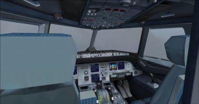 Airbus A321-231 Virtuel Cockpit