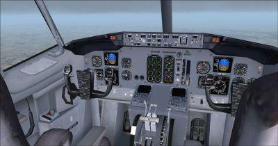 Boeing B737-400 Cockpit Virtual