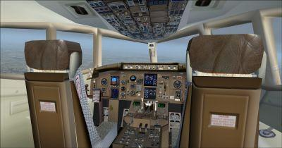 Boeing B757-200 Cockpit Virtual