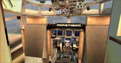 Boeing B767-332ER Cockpit Virtual