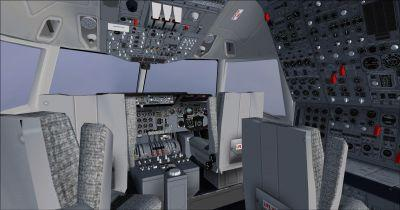 Lockheed L-1011 TriStar Cockpit Virtual