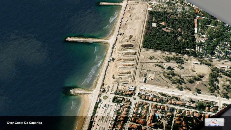 1ofx Lissabon stad landmerk 2014 FSX p3d