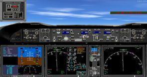ቲክስ ቦይንግ 787 mega pack 2d panel 1