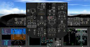 ቲክስ ቦይንግ 787 mega pack 2d panel 2