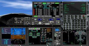 ቲክስ ቦይንግ 787 mega pack 2d panel 4