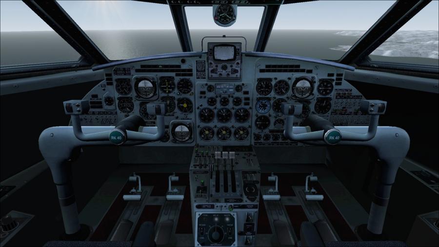 yakovlev Yak 40 Cockpit vun hyppthe d67dlpv