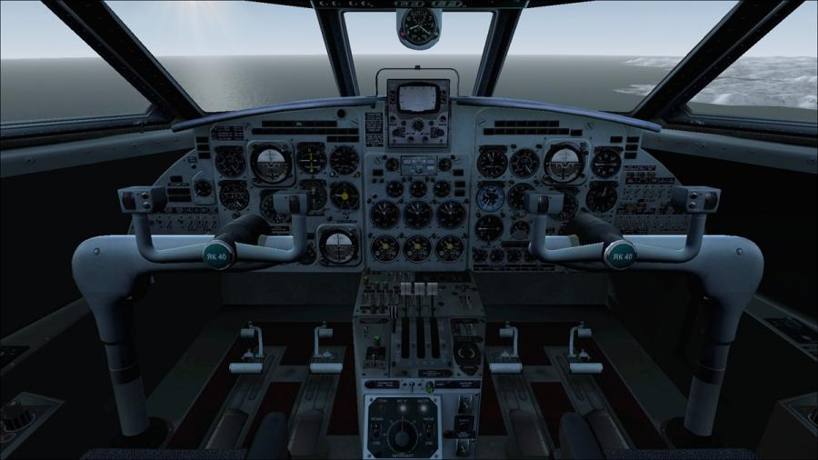 Јаковлев закачка 40 пилотската кабина од hyppthe d67dlpv