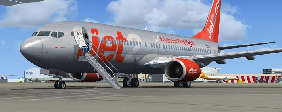 intro boeing 737-800 jet2.com package fsx p3d