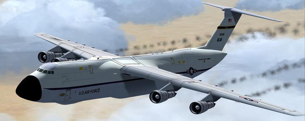 intro lockheed c 5 galaxy alphasim fsx p3d