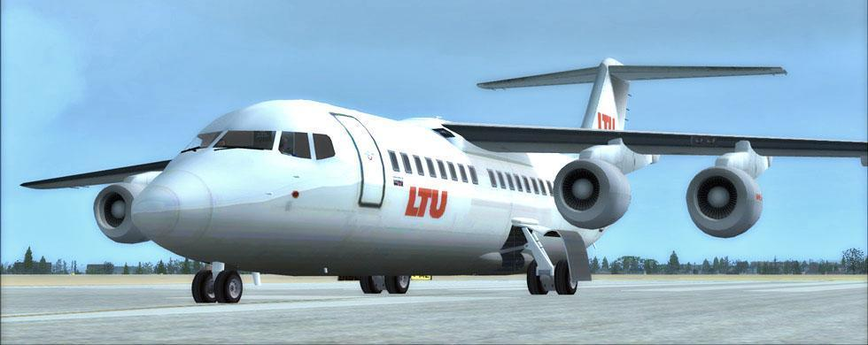 intro ltu international airways fleet fsx p3d