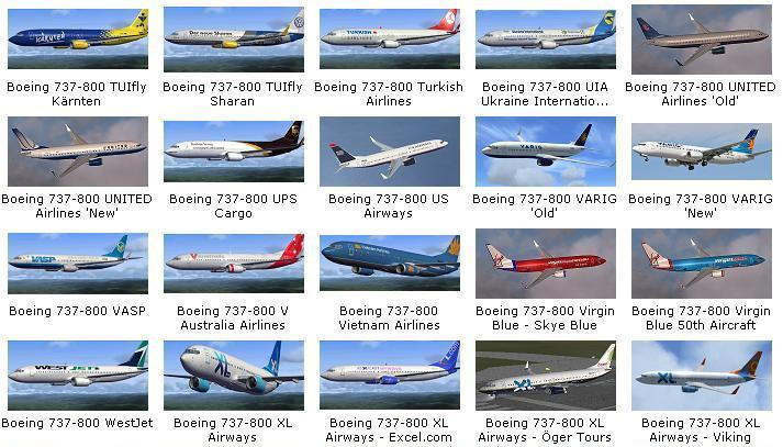 DOWNLOAD 164 Repaints Collection Pack for default B737-800