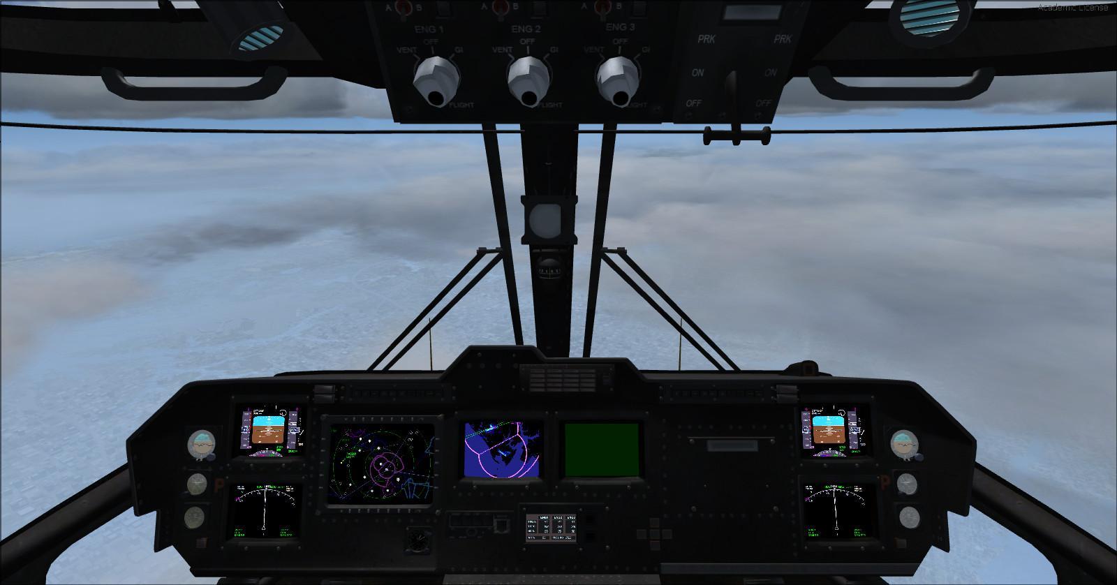 DOWNLOAD Agusta Westland EH101 v2 FSX & P3D - Rikoooo