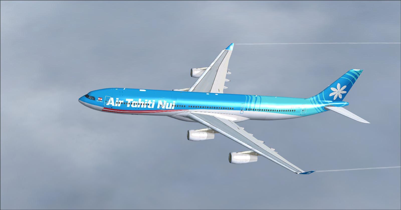 DOWNLOAD Airbus A340 Mega Package Vol 1 FSX & P3D - Rikoooo