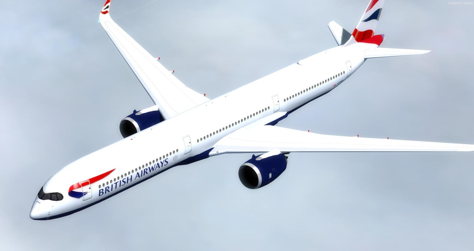 DOWNLOAD Airbus A350-1000 XWB CamSim FSX & P3D - Rikoooo