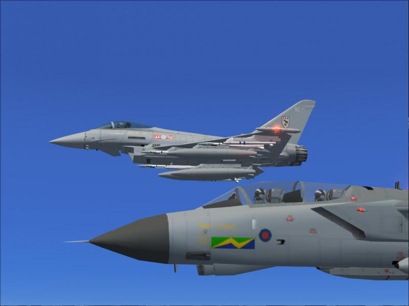 DOWNLOAD Eurofighter Typhoon AlphaSim FSX & P3D - Rikoooo