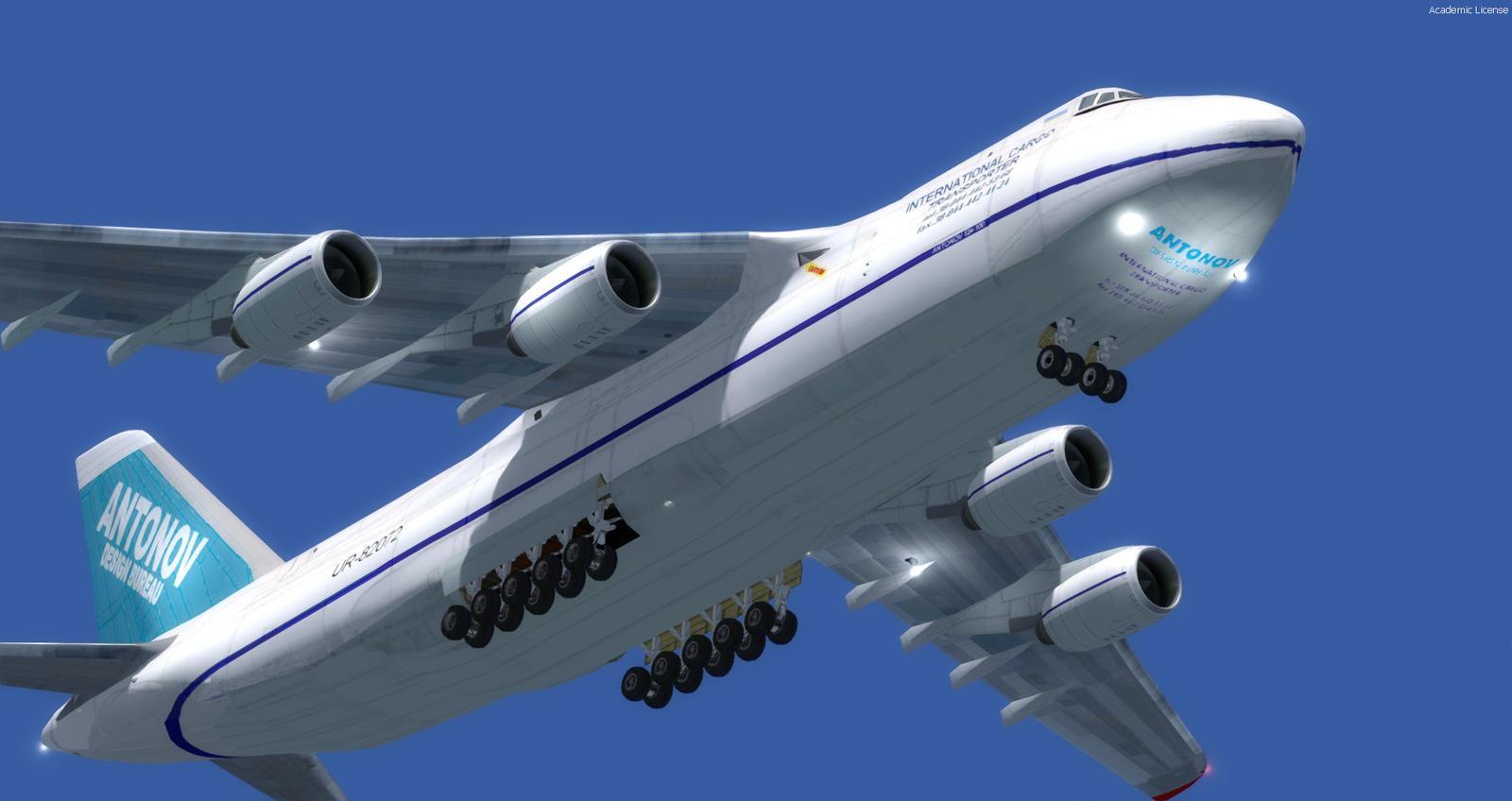 DOWNLOAD Antonov AN-124 FSX & P3D - Rikoooo