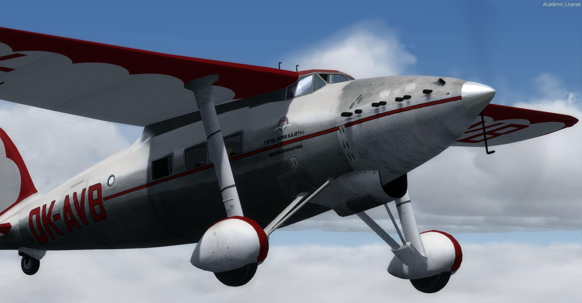 DOWNLOAD Avia 156 Project FSX & P3D - Rikoooo