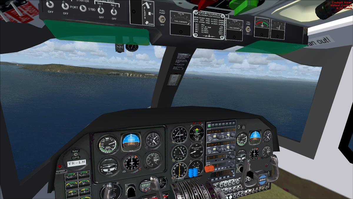 DOWNLOAD Britten Norman BN-2 Islander - Transgabon FS2004