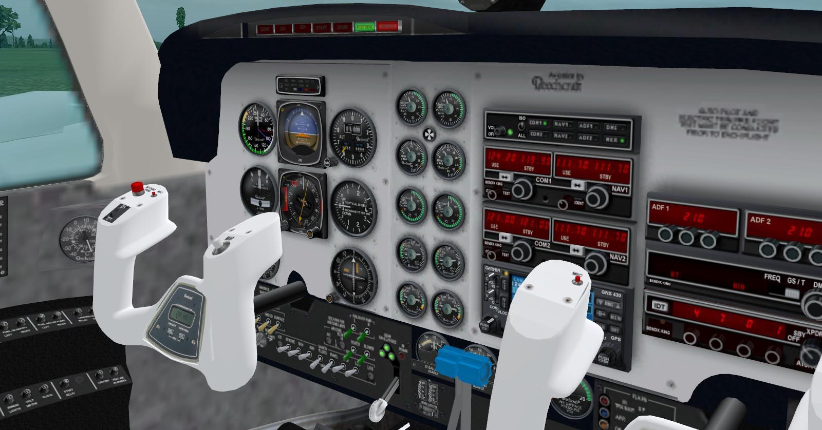 descargar beechcraft baron 58 v2 x-plane 10