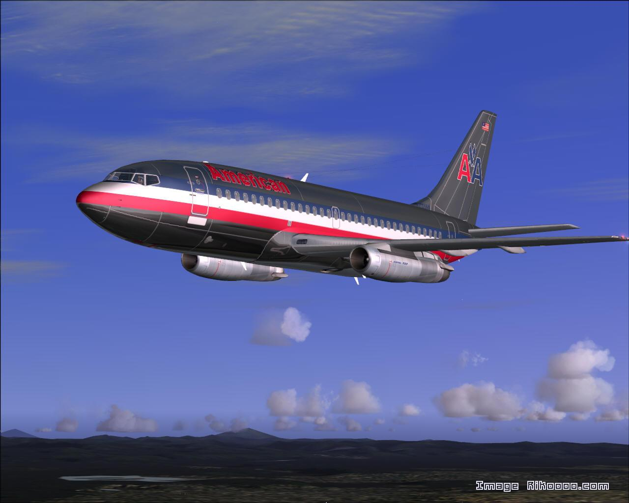 DOWNLOAD Boeing 737-200 American Airlines FS2004 - Rikoooo