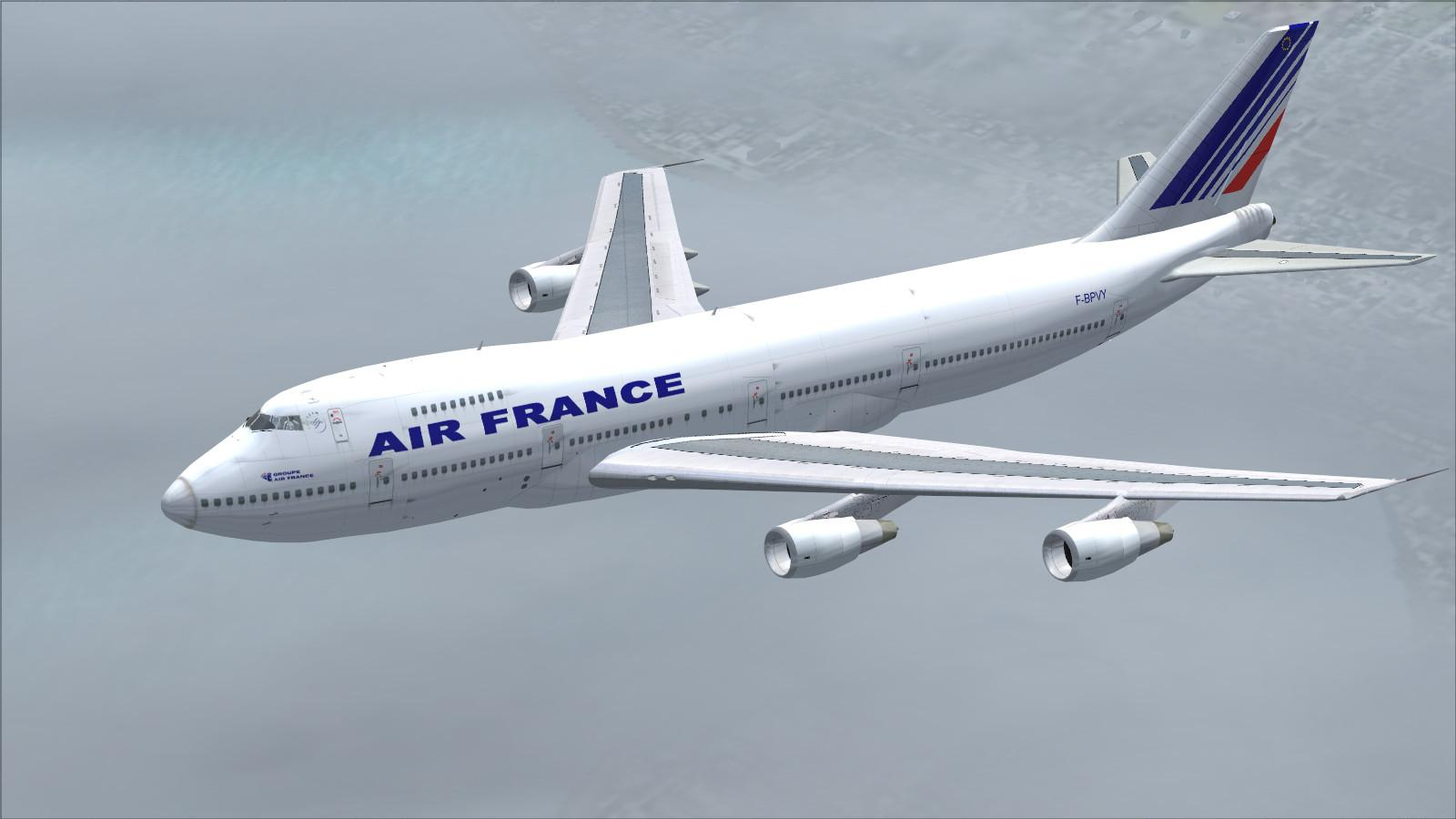T l charger boeing 747 200 air france fs2004 rikoooo for Interieur 747 air france
