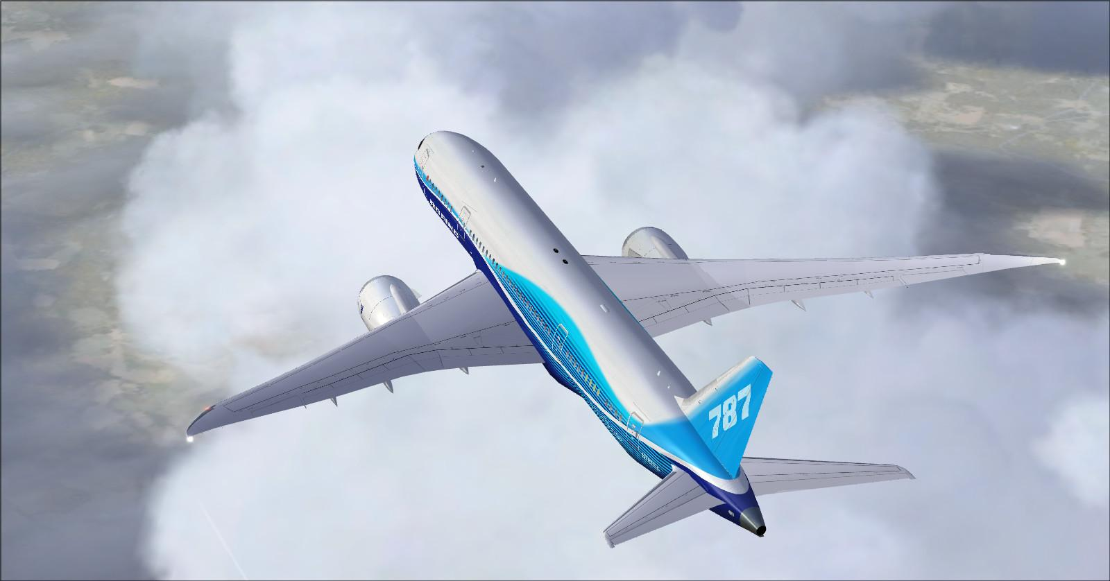 DOWNLOAD Boeing 787-8 DreamLiner FSX & P3D - Rikoooo