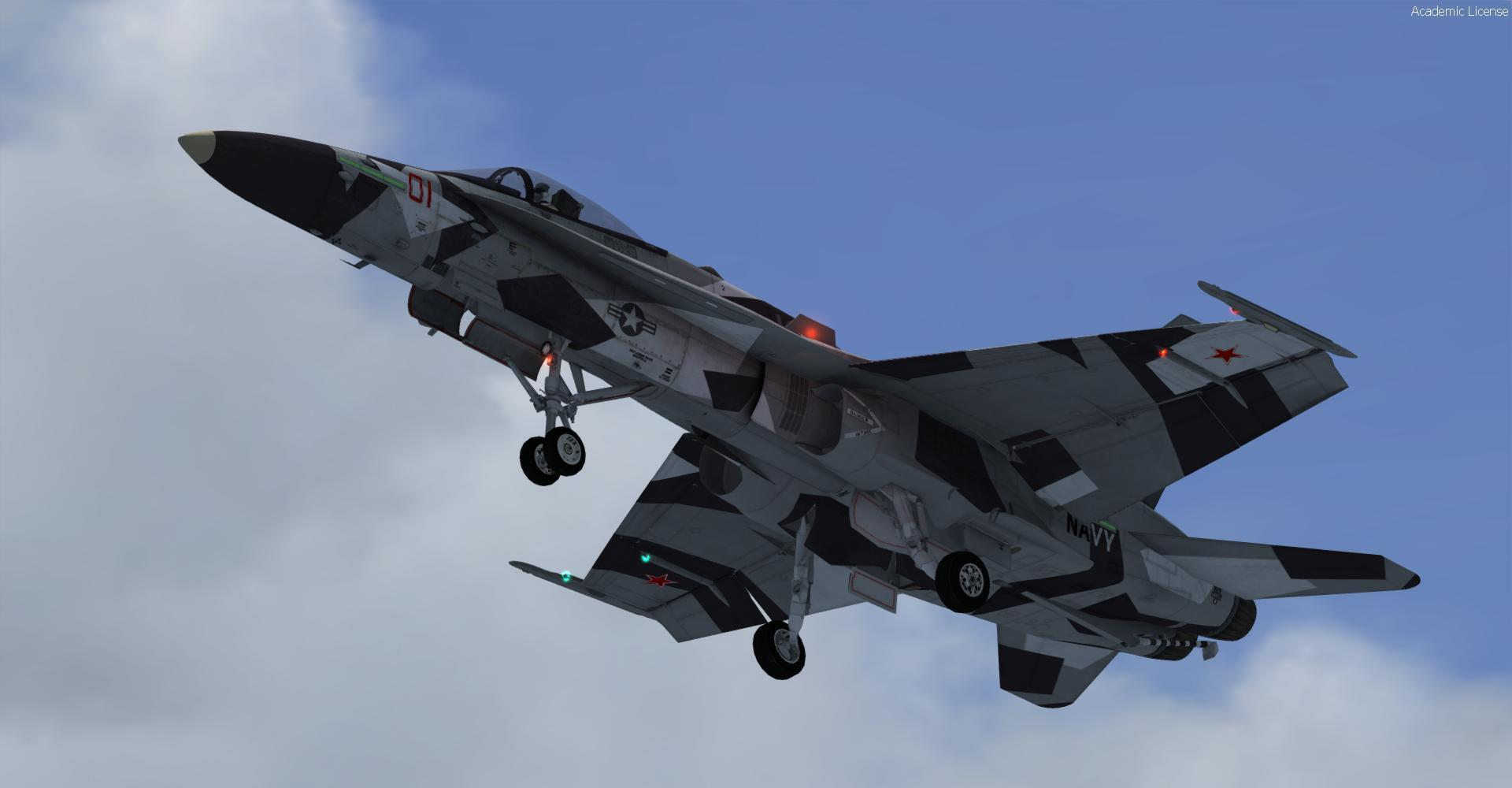 DOWNLOAD Boeing F/A-18c Hornet Multi-livery FSX & P3D - Rikoooo