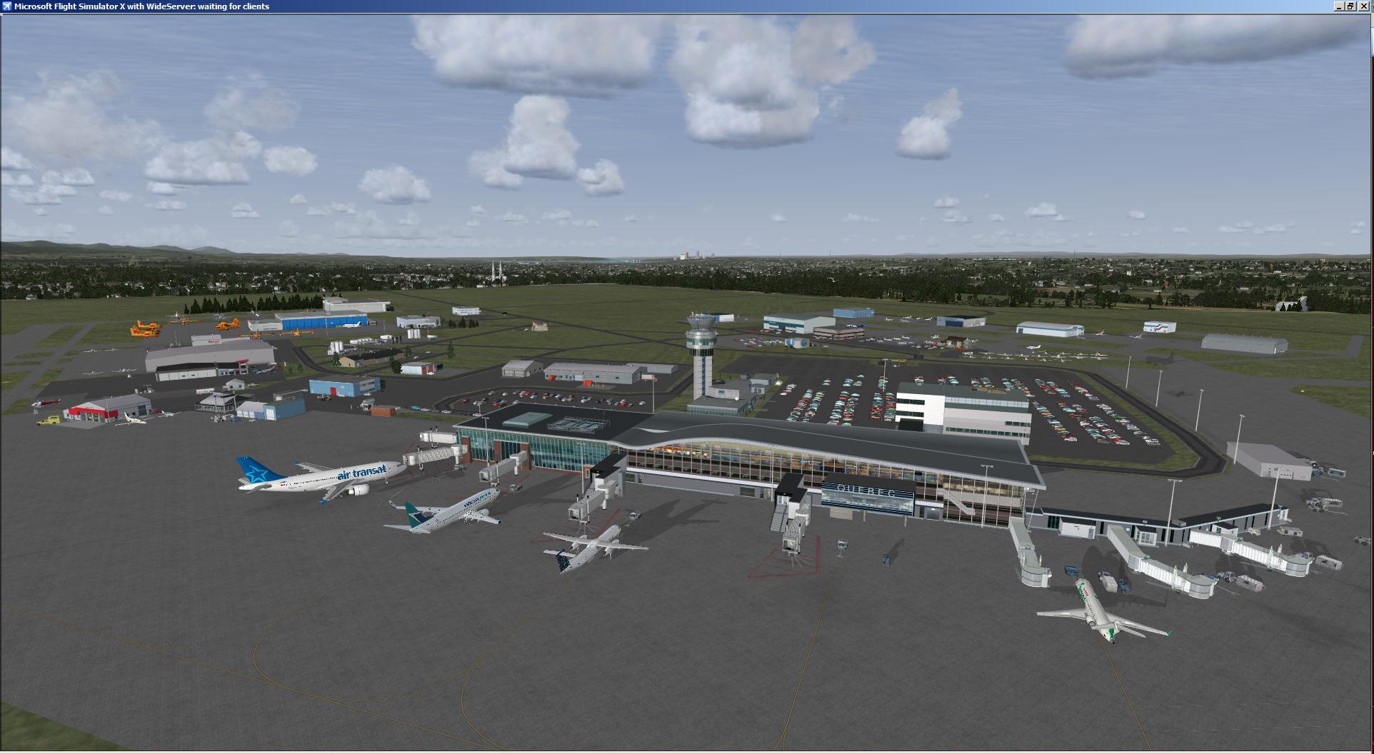 DOWNLOAD Quebec Intl Airport Jean Lesage FSX & P3D - Rikoooo