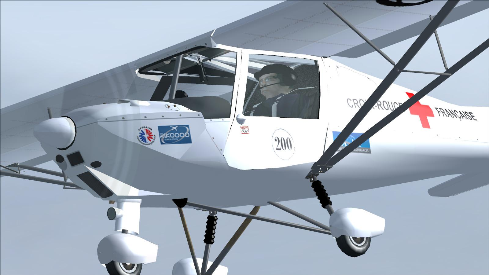 Download Comco Ikarus C42 Red Cross Fsx P3d Rikoooo