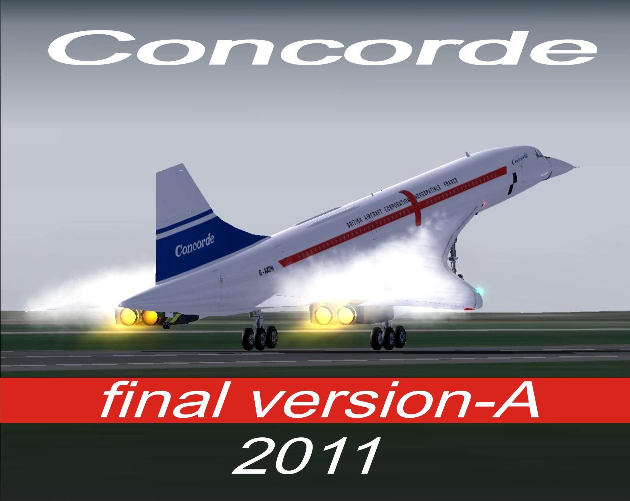 Fsx concorde ( freeware ) ( hd ) youtube.