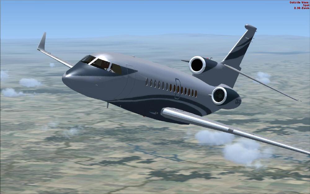 T 201 L 201 Charger Dassault Falcon 7x For Fsx Rikoooo