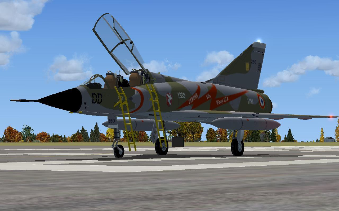 T 201 L 201 Charger Dassault Mirage Iii B Last Flight Fsx A Rikoooo