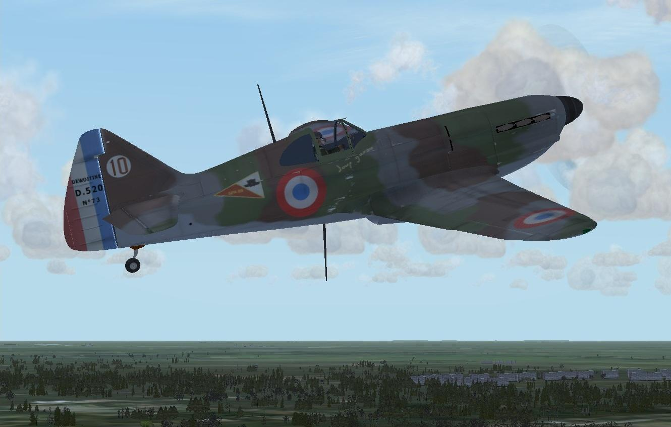 DOWNLOAD Dewoitine D-520 FSX - Rikoooo