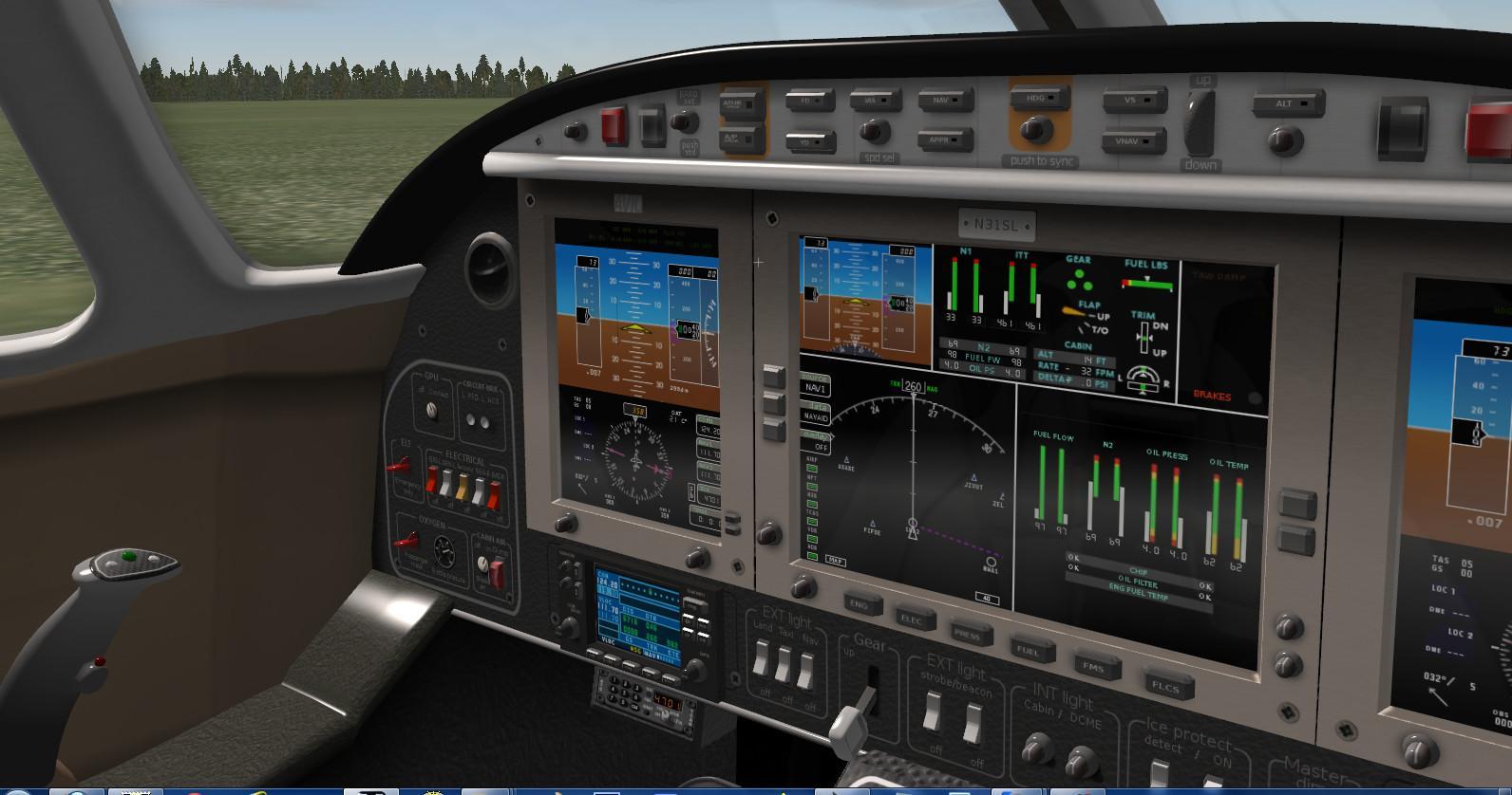X Plane 10 Cockpit – HD Wallpapers
