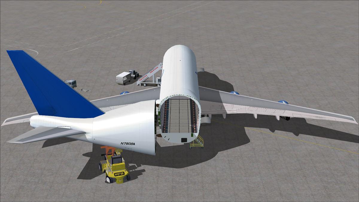 DOWNLOAD FSP Boeing 747-400LCF Dreamlifter FSX - Rikoooo