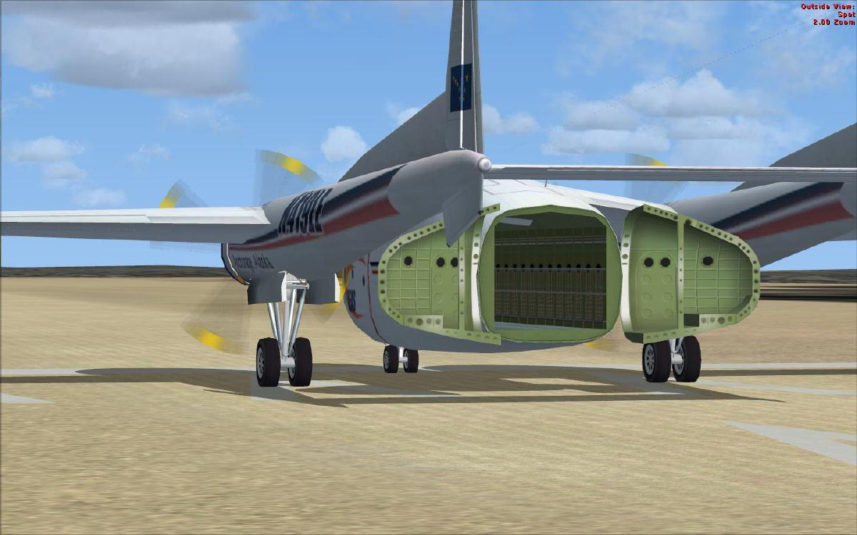 DOWNLOAD Fairchild C119 LEAS Air Cargo NAM FSX