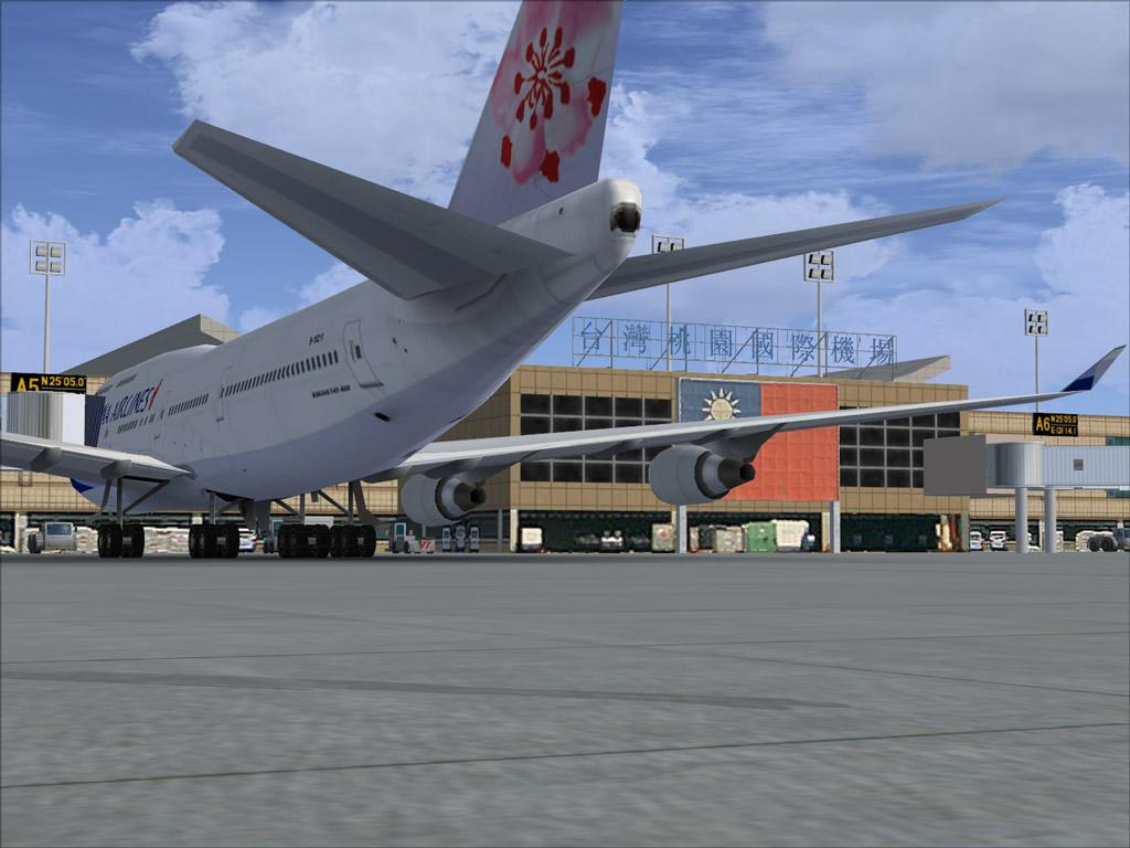Taoyuan Taiwan  City new picture : TÉLÉCHARGER Formosa X RCTP Taiwan Taoyuan Intl Airport FSX & P3D ...