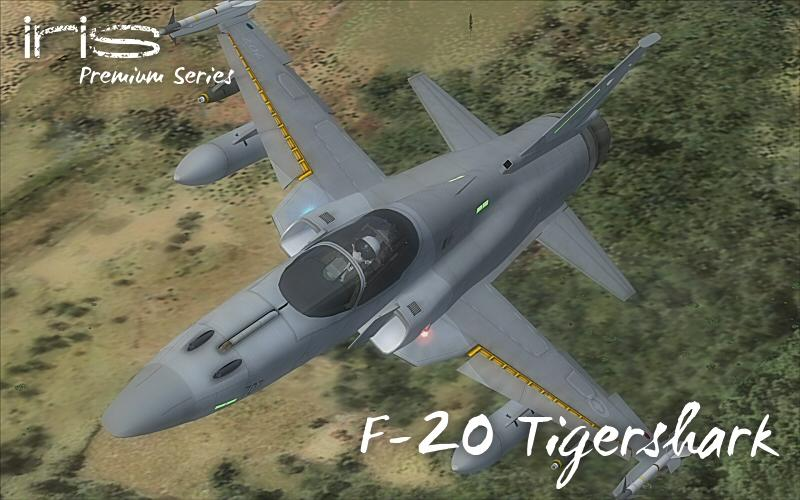 DOWNLOAD IRIS F-20 Tigershark FSX & P3D - Rikoooo