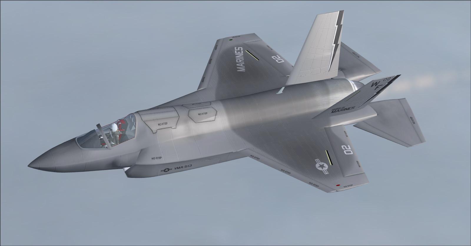 DOWNLOAD IRIS F-35B Scimitar FA 2 FS2004 - Rikoooo