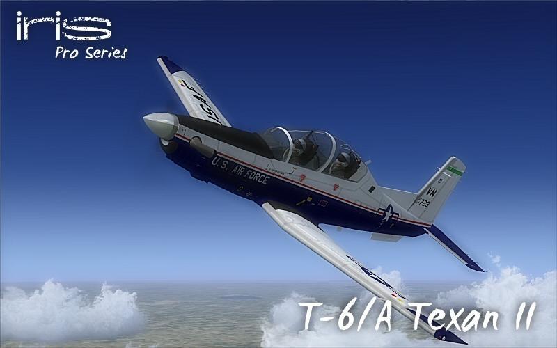 DOWNLOAD IRIS T-6A Texan II FSX & P3D - Rikoooo