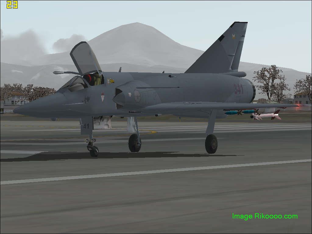avion de chasse fs2004