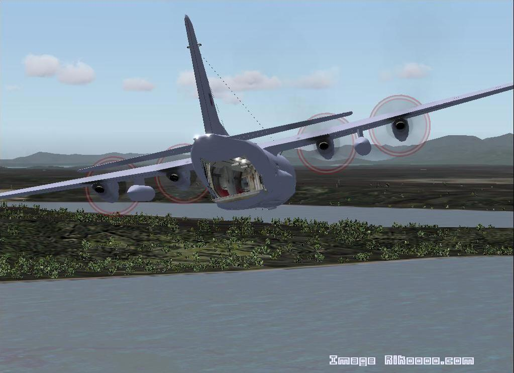 Elicottero Hercules : Scarica lockheed c hercules simshed fs rikoooo